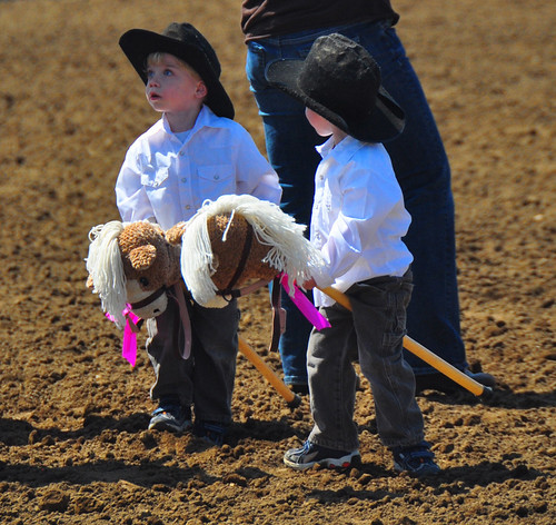 Stick Pony Parade at Jasper Heritage Rodeo