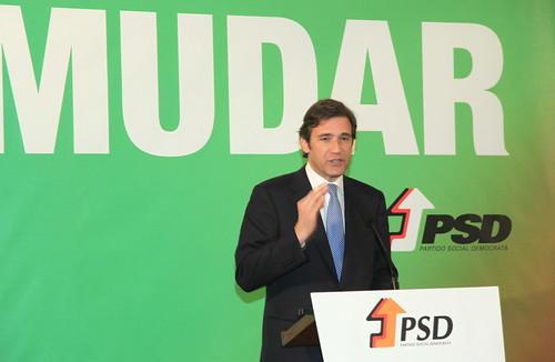 Pedro Passos Coelho no encerramento do Congresso Distrital do PSD-Viseu