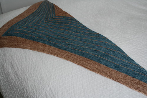 Stripe Study Shawl (3)
