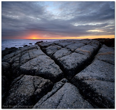 Pie Rock (Panorama Paul) Tags: sunset applepie seapoint x