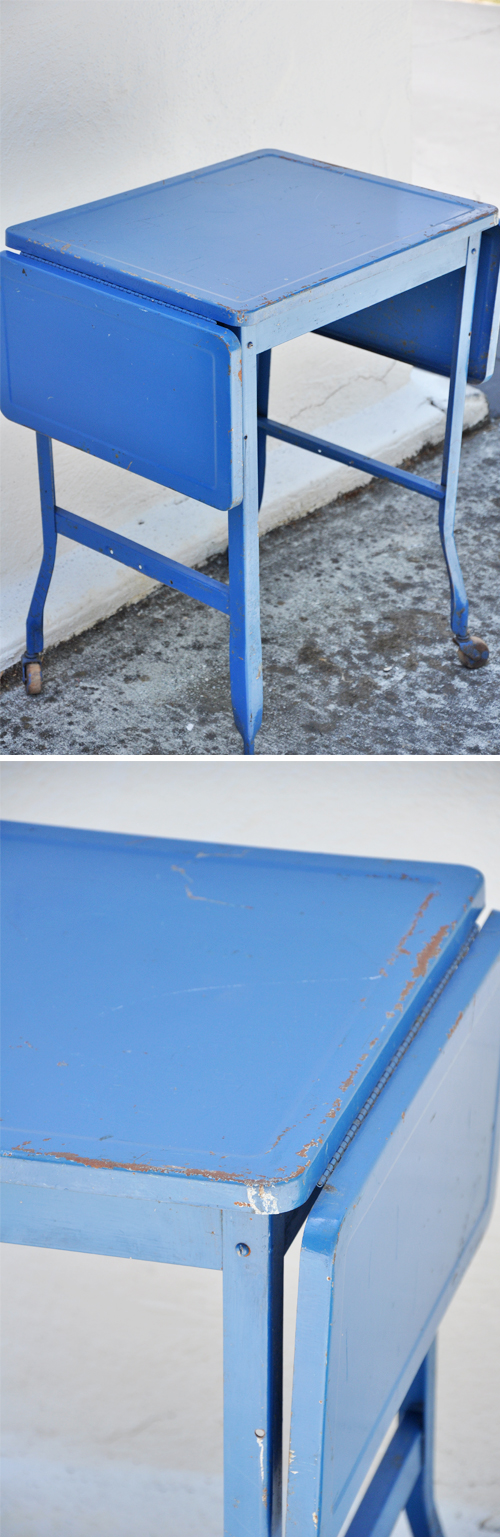 Blue-Typewriter-Table