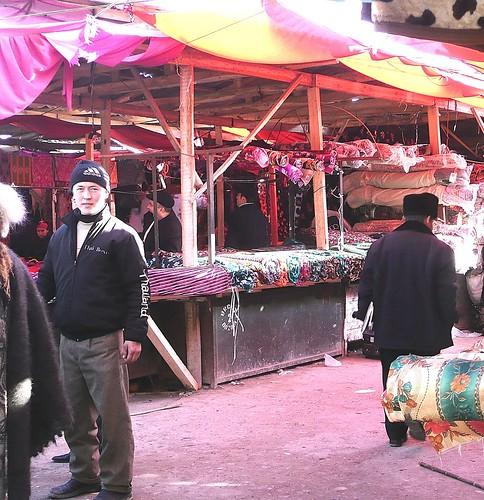Fabric Shimmer -  Urgut, Uzbekistan