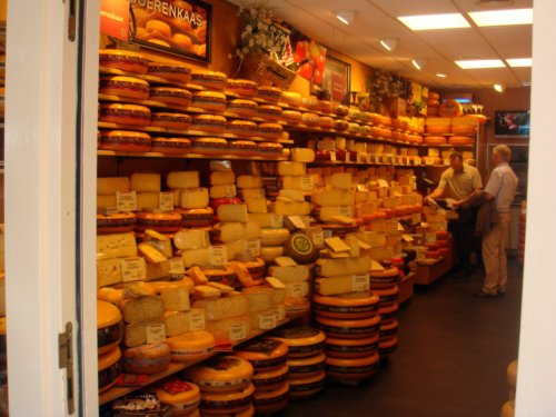 Cheese Shop in Holland