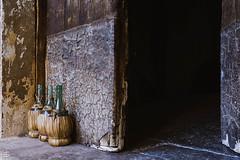Bottles on the doorstep (cekuphoto) Tags: 2016 august cilento grottedicastelcivita italy parconazionale roscignovecchio gita mamma papà salerno speleologia stalagmiti stalattiti nikonflickraward
