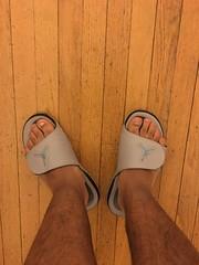 IMG_9963 (_bagent1) Tags: myfeet boyfeet chubbyfeet barefeet bearfeet thickfeet chubbytoes chubby chubbysoles soles slides sandals tops toes