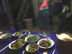 Feast for dinner! (jumbokedama) Tags: phongsali teacigars teaplantations laolao laowhisky laowhiskey laofood