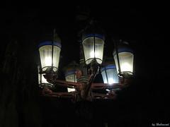 Gaudi lights (Shahrazad26) Tags: gaudi streetlamps lantaarnpaal nightshot nachtopname plazareial barcelona catalunya spanje spain spanien espagna espagne