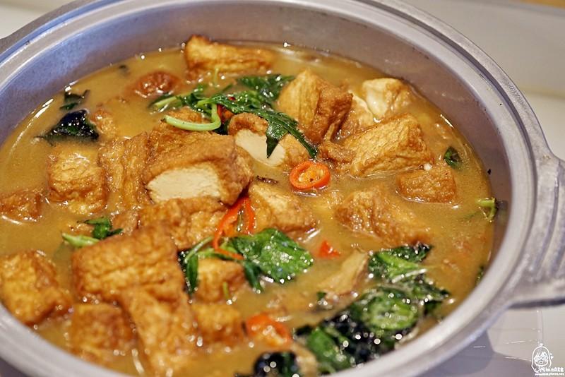 三杯豆腐(全素)