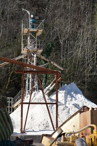 Lochaline Silica Mine