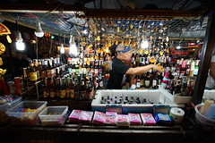Bangkok Culture Center (NightMarket) 15mm @f5.6 (ArthurCQQ) Tags: rodfai night 拉差達火車夜市 bangkok beer nightmarket ratchada vm15iii voigtlander 15mm heliar
