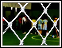 ` Life is Life` (huda mamat) Tags: students sport kids ball nikon friend perspective hijab malaysia framing malacca futsal sukan pusat sportcentre hudamamat