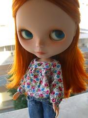 This is how my girls look today (buganville) Tags: doll blythe vs custom takara sbl mueca vsmash squeakymonkey fishknees vainilladolly mayacomes