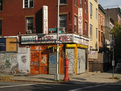 mannysliquors.JPG (Johnnie Utah) Tags: urban rot abandoned brooklyn store closed decay liquor williamsburg blight shuttered
