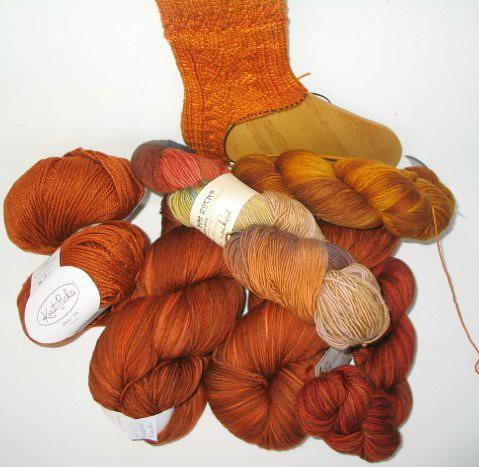 Pile o' orange