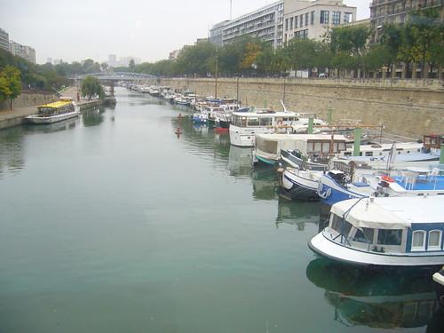Seine côté Bastille