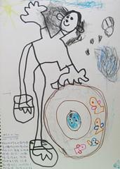 20090531-zozo畫去外婆家泡水