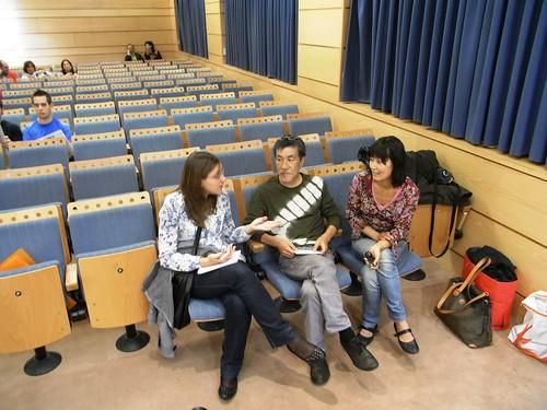 El inventor del Sudoku Maki Kaji en la Universidad de Cordoba