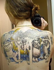 Where the Wild Things Are Tattoo (Miss Grace) Tags: tattoo wherethewildthingsare sendak wtwta georgecampise