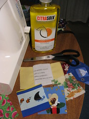 Citra-Solv Photo Copy Transfer I Spy Riddle