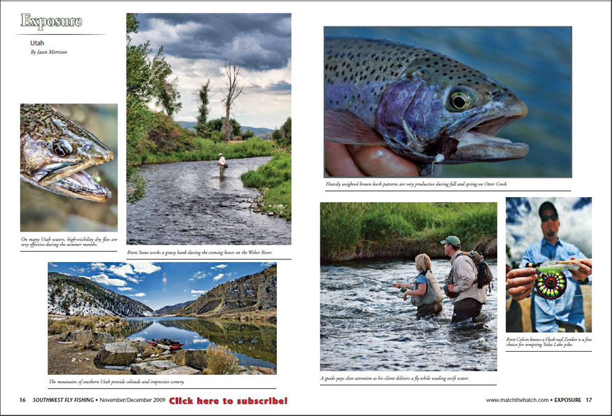 Southwest Fly FIshing Magazine Nov/Dec 2009