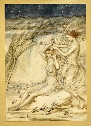 003-Comus de John Milton-ilustrada por Rackham 1921