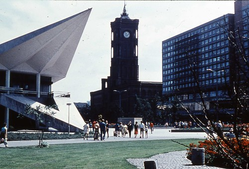 East Berlin 1980 - Clock Tower
