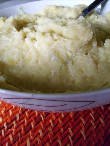 Purée de céleri-rave façon grand-mère / Grandma's celery root purée