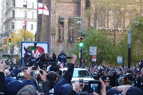 Jeter & Posada, 2009 World Series Champions Parade