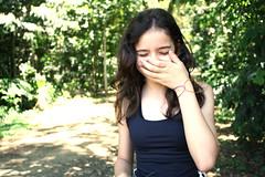 menina timida (zizasl) Tags: portrait girl retrato shy menina timida