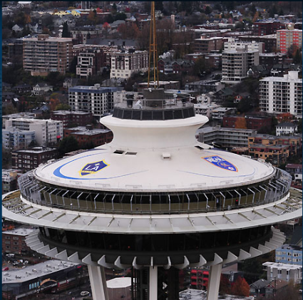 Space Needle MLS Cup 2