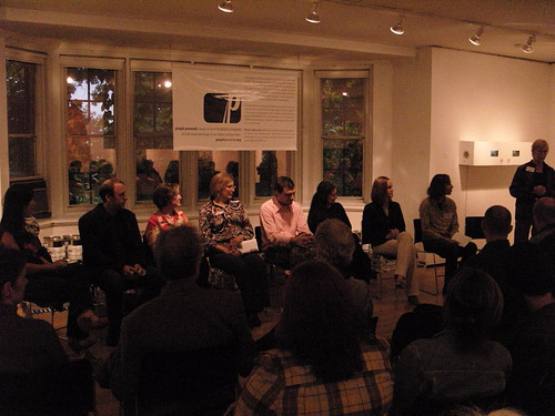 Evanston Art Center Panel Discussion