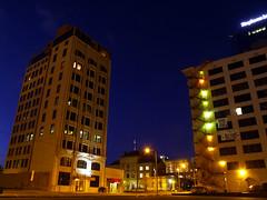 Along Center Street (cormack13) Tags: downtown littlerock dusk arkansas centreplace