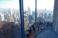 "Lower Viewing Platform on the ""Top of the Rock"" (alexscott67) Tags: new york nyc ny rockefellercenter rockefellercentre topoftherock"