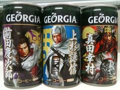 戦国武将の缶コーヒー (oradasu) Tags: 戦国武将