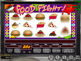 Food Fight slot game online review