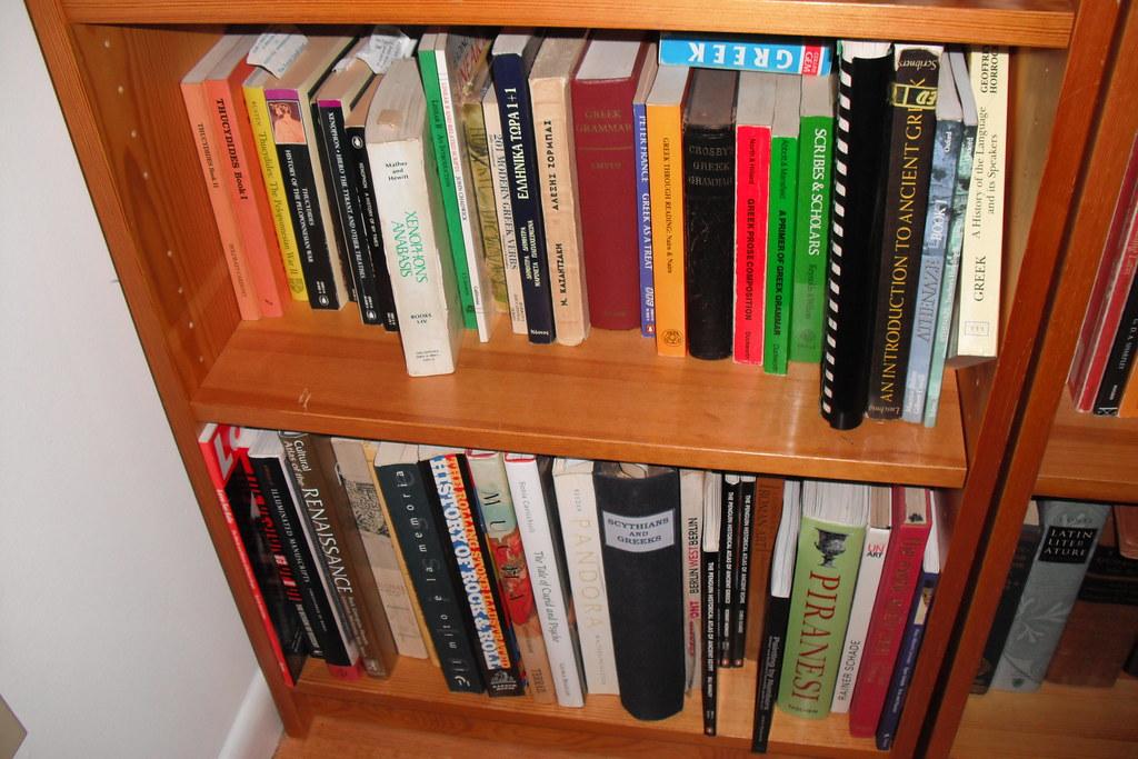 Bookshelf Ken Mayer Tags Greek Books