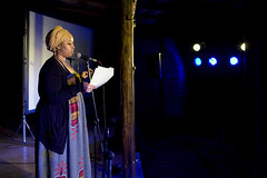 Warsan Shire at Spier