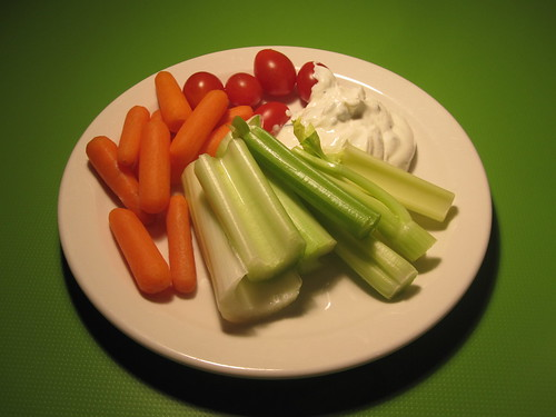 Crudité from the bistro - free