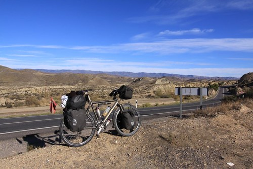 Desierto de Tabernas...Great, great, great cycling!