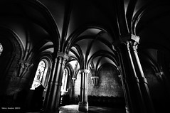 ombre (fabio c. favaloro) Tags: bw church abbey lights shadows bn 2008 italiy abbazia casamari fabiocfavaloro theemptyplaces