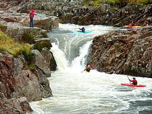 River Etive Fishing Canoeing River Etive by John