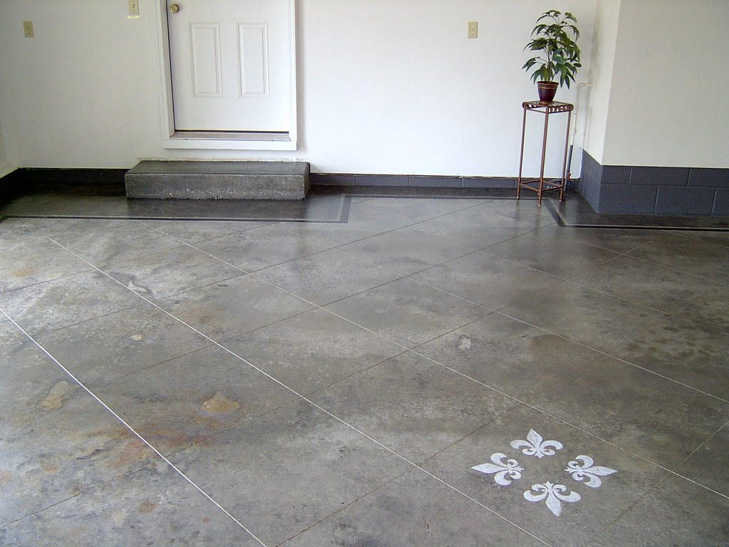 Sealing Concrete Garage Floor Sealing Concrete Carbon