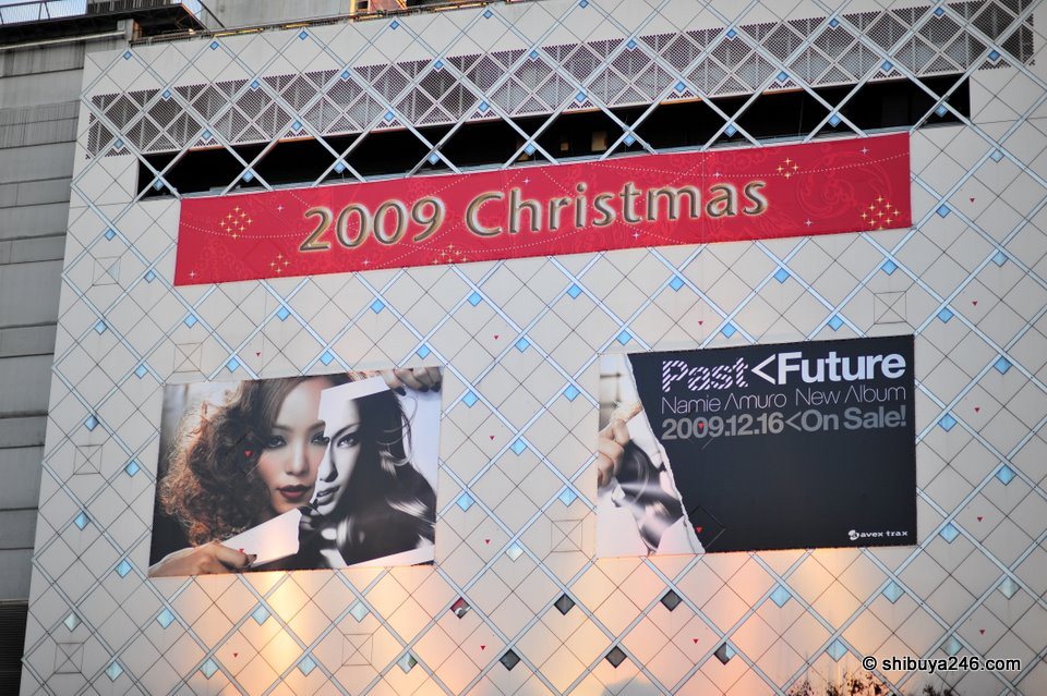 Amuro Namie takes out the no.1 advertising position in Shibuya for her new album