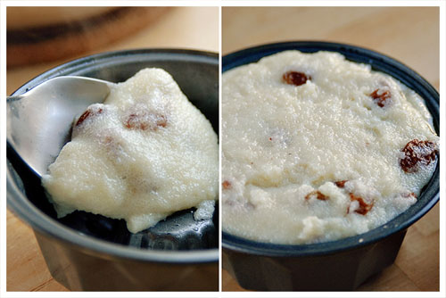Semolina Pudding & Raisins