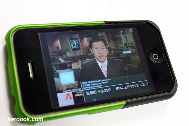 Starhub TV on iPhone