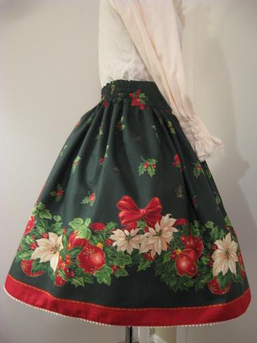 Christmas skirt 2009 008