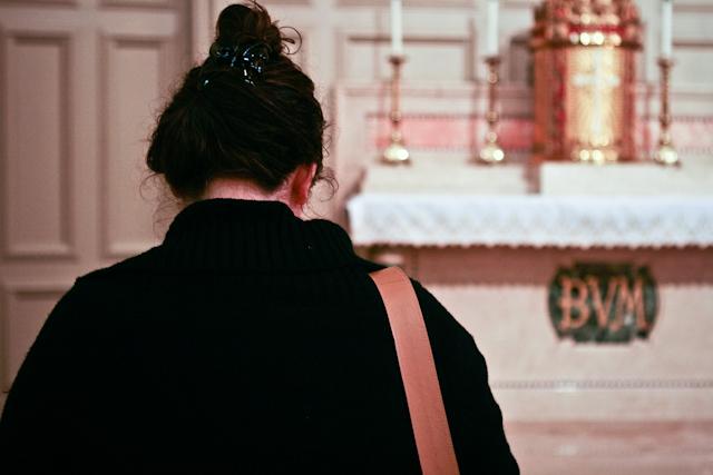 Megan Praying