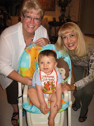 Z with his 2 grandmas