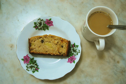 my cake and coffee