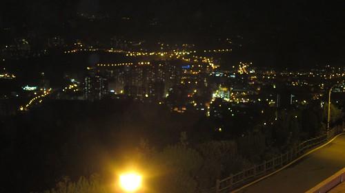 大尖山夜景